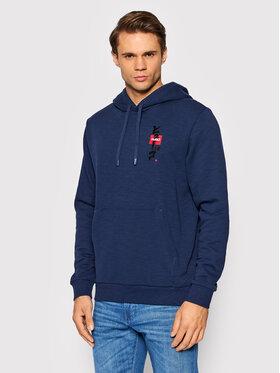 Hugo Hugo Sweatshirt Doplin 50454361 Bleu marine Relaxed Fit