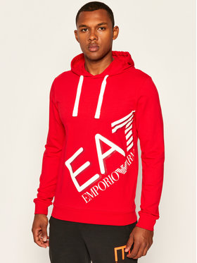 EA7 Emporio Armani EA7 Emporio Armani Sweatshirt 6HPM26 PJ8LZ 1451 Rot Regular Fit
