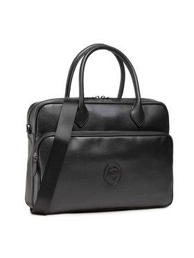 Trussardi Trussardi Чанта за лаптоп Pre Urban Briefcase 71B00252 Черен