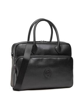 Trussardi Trussardi Τσάντα για laptop Pre Urban Briefcase 71B00252 Μαύρο