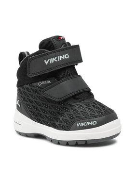 Viking Viking Μπότες Χιονιού Hero R Gtx GORE-TEX 3-89340-277 Μαύρο