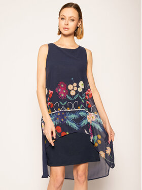 Desigual Desigual Kleid für den Alltag Vest_Carnegie 20SWVWAC Loose Fit