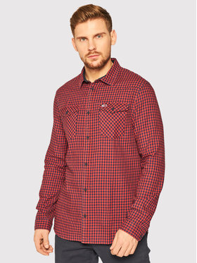 Tommy Jeans Tommy Jeans Ing Gingham Western DM0DM08779 Piros Regular Fit