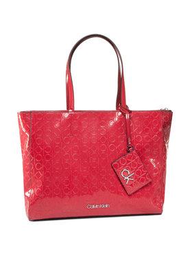 Calvin Klein Calvin Klein Kabelka Ck Must Em Shopper MD K60K606760 Červená