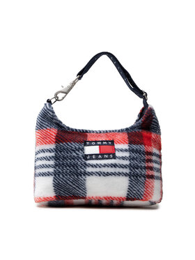 Tommy Jeans Tommy Jeans Torebka Tjw Heritage Chech Shoulder Bag AW0AW10745 Biały