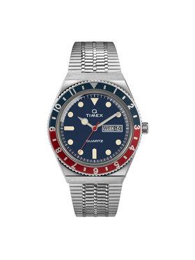 Timex Timex Hodinky Q Reissue TW2T80700 Strieborná