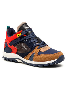 Pepe Jeans Pepe Jeans Sneakersy Arcade Trail Junior PBS50086 Granatowy
