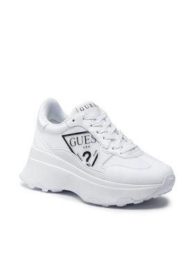 Guess Guess Sneakersy Calebb FL7CBB FAB12 Biały