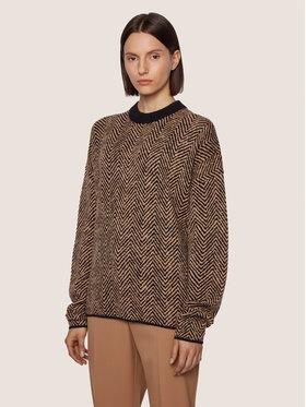 Boss Boss Sweater C_Fadrinas 50436177 Barna Regular Fit