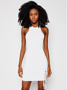 Guess Guess Sukienka dzianinowa W1GK90 Z2U00 Biały Slim Fit