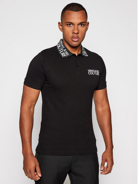 Versace Jeans Couture Versace Jeans Couture Polo marškinėliai B3GZB7T1 Juoda Slim Fit