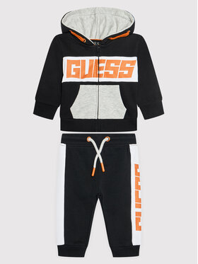 Guess Guess Dres I1BG00 KAD70 Czarny Regular Fit