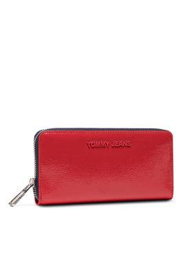 Tommy Jeans Tommy Jeans Великий жіночий гаманець Tjw Ess Large Za Crinkle AW0AW10207 Червоний