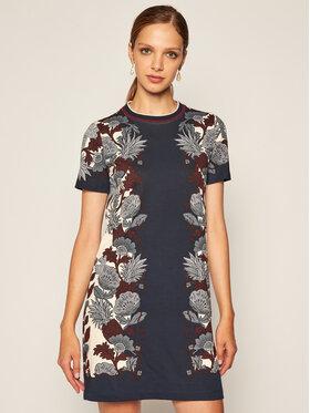 Tory Burch Tory Burch Φόρεμα καθημερινό Printed 73622 Σκούρο μπλε Regular Fit