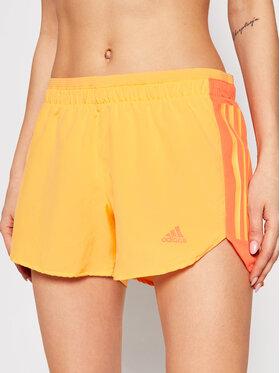 adidas adidas Short de sport Run It GM1589 Orange Regular Fit