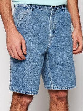 Vans Vans Pantaloncini di jeans Class VN0A54E6 Blu Loose Fit