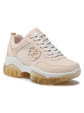 Guess Guess Sneakersy Dreamer FL6DRE ESU12 Béžová