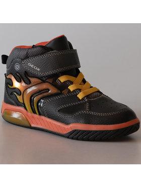 Geox Geox Sneakersy J Inek B. C J949CC 0BU11 C0749 D Černá