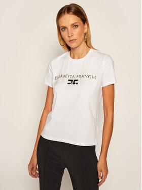 Elisabetta Franchi Elisabetta Franchi Тишърт MA-22N-06E2-V94 Бял Regular Fit