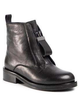 Gino Rossi Gino Rossi Členková obuv sty.41 Čierna