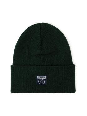 Wrangler Wrangler Căciulă Basic Beanie W0U0UHG08 Verde