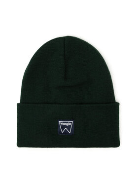 Wrangler Wrangler Kepurė Basic Beanie W0U0UHG08 Žalia