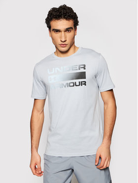Under Armour Under Armour T-shirt Ua Team Issue Wordmark 1329582 Gris Loose Fit