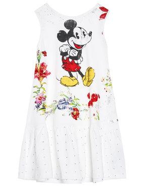 Desigual Desigual Ежедневна рокля DISNEY Analia 21SGVK18 Бял Regular Fit