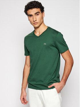 Lacoste Lacoste Marškinėliai TH6710 Žalia Regular Fit