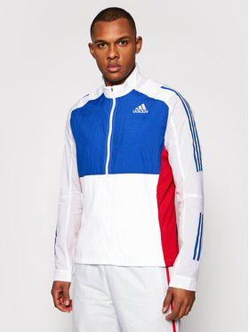 adidas adidas Átmeneti kabát Otr Track GM6015 Fehér Regular Fit