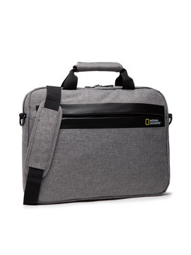 National Geographic National Geographic Porta PC Brief Case N13106.22 Grigio