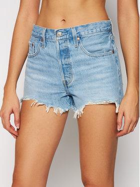Levi's® Levi's® Szorty jeansowe 501 High-Waisted 56327-0086 Niebieski Regular Fit