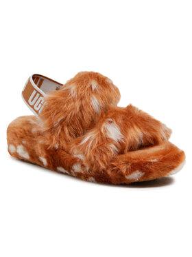 Ugg Ugg Pantofole W Oh Yeah Spots 1118165 Marrone