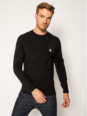Tommy Hilfiger Tommy Hilfiger Pullover Modern Essential MW0MW15476 Schwarz Regular Fit