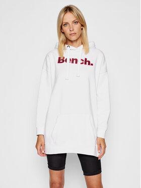 Bench Bench Vestito di maglia Dayla 117442 Bianco Regular Fit