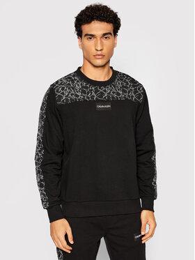 Calvin Klein Calvin Klein Суитшърт Reflective Print K10K107418 Черен Regular Fit