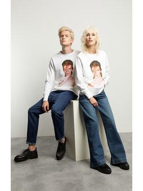 Vistula Vistula Bluza Unisex David Bowie By Duffy 2 XA1329 Biały Regular Fit