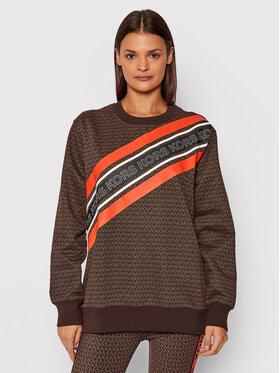 MICHAEL Michael Kors MICHAEL Michael Kors Sweatshirt MF150FE38G Marron Regular Fit
