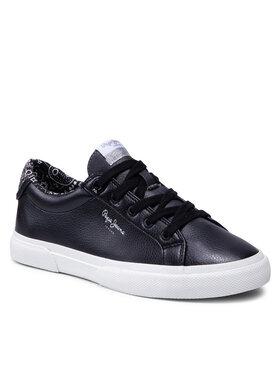 Pepe Jeans Pepe Jeans Sneakersy Kenton Plain PLS31235 Černá
