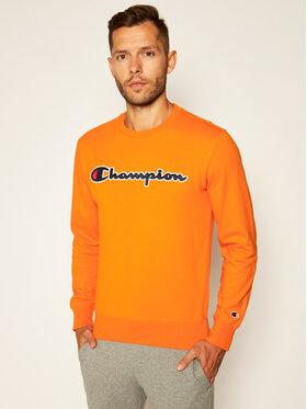 Champion Champion Bluză Satin Script Logo 214188 Portocaliu Comfort Fit