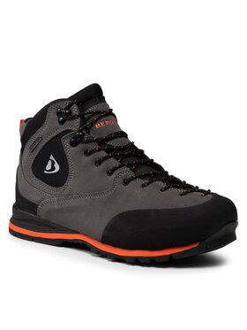 Bergson Bergson Chaussures de trekking Castor Mid Stx Gris