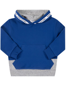 Little Marc Jacobs Little Marc Jacobs Sweatshirt W25409 Blau Regular Fit