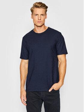 United Colors Of Benetton United Colors Of Benetton T-Shirt 3JE1J19A5 Tmavomodrá Regular Fit