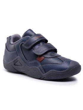Geox Geox Sneakersy J Wader A J0430A 05443 CF46N Tmavomodrá