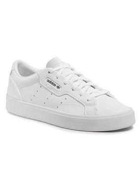 adidas adidas Обувки Sleek W Vegan FX7761 Бял