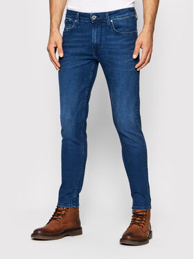 Pepe Jeans Pepe Jeans Jean Finsbury PM200338 Bleu Skinny Fit