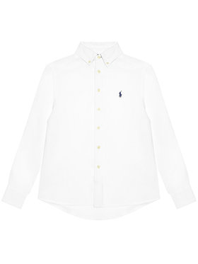 Polo Ralph Lauren Polo Ralph Lauren Hemd Ls Bd 323832109001 Weiß Regular Fit
