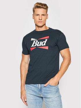 Billabong Billabong T-Shirt BUDWEISER Flag Z1SS20 Granatowy Premium Fit