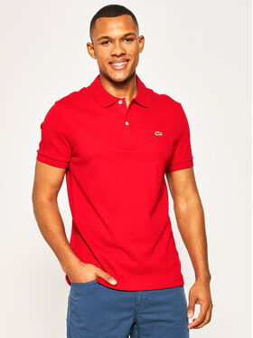 Lacoste Lacoste Polo DH2050 Rosso Regular Fit