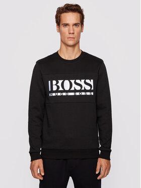 Boss Boss Majica dugih rukava Salbo 1 Crna Regular Fit